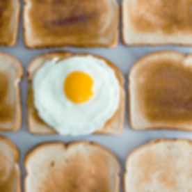 Toast with Sunny Side Up