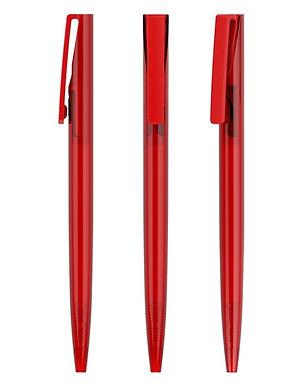 Lator Retratable Ball Pen - Simple 0.7mm -Red