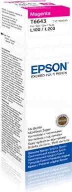 Epson Refill Ink T6643 Magenta