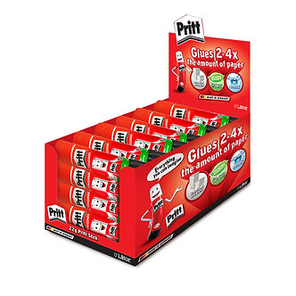 Lator Pritt Glue Stick 22g- Value Pack 24 pcs