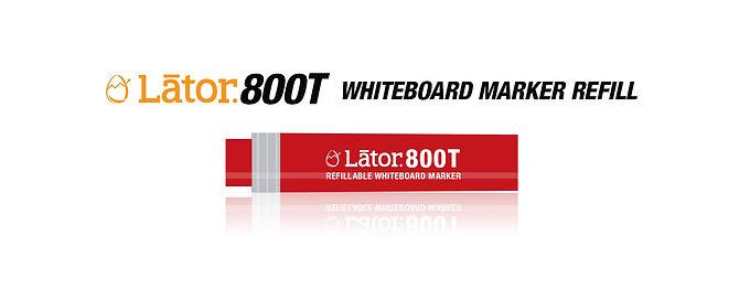 Lator Whiteboard Refill L800T Red