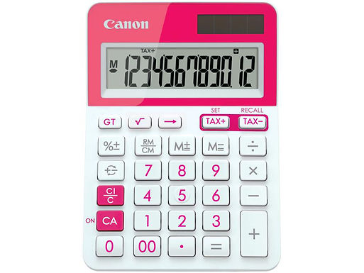 Canon Calculator LS 123T (PINK)