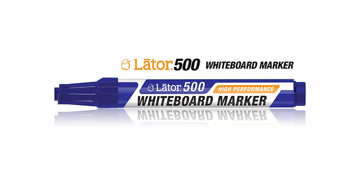 Lator Whiteboard Marker 500 Blue- 1pc