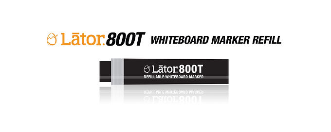 Lator Whiteboard Refill L800T Black