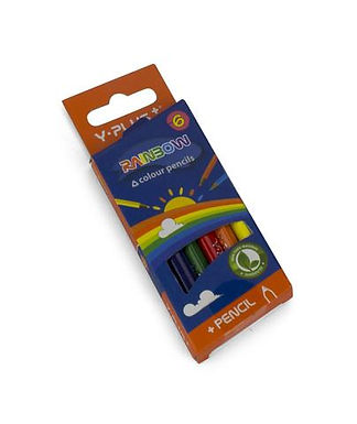 Lator Yplus Color Pencil 6's Short - 1box