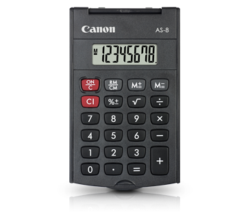 Canon Calculator AS - 8