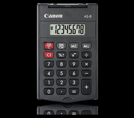Canon Calculator AS - 8