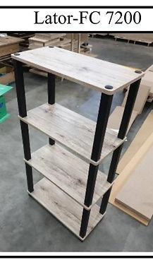 Lator DIY Furniture - 4 Tiers Shelve