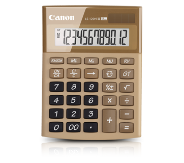 Canon Calculator LS 120 HI III (GOLD)