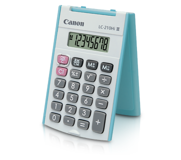 Canon Calculator LS 210 HI III (BLUE)
