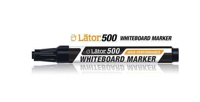 Lator Whiteboard Marker 500 Black- 1pc