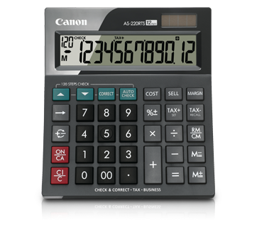 Canon Calculator AS - 220 RTS
