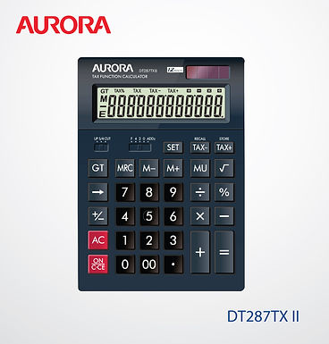 Aurora Calculator DT287TX II Tax