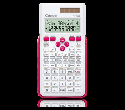 Canon Calculator Scientific F-715 SG (WHITE MAGENTA)