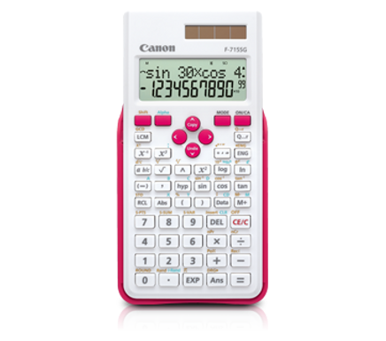 Canon Calculator Scientific F-715 SG (WHITE MAGENTA)