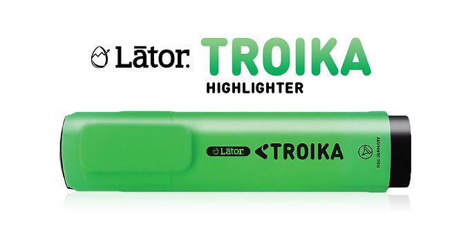 Lator Troika Highlighter Green -1pc