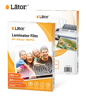 Lator Laminate Film - A4