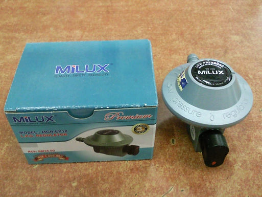 Milux Gas Regulator with tube