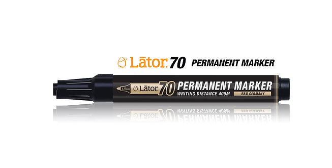 Lator Permanent Marker 70 Black- 1pc