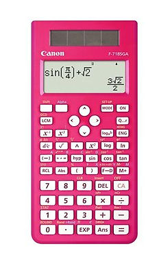 Canon Calculator Scientific F-718 SG (PINK)