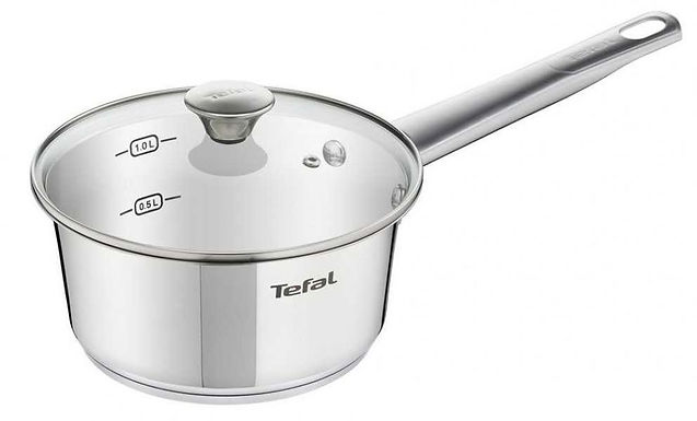 Tefal Simpleo Saucepan 16cm+ lid (SS)  B90522