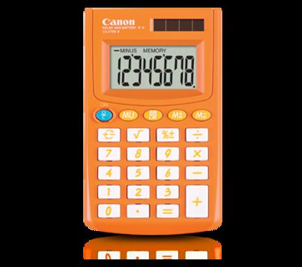 Canon Calculator LS 270 II (AUTUMN ORANGE)
