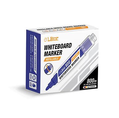 Lator Refillable Whiteboard Marker 500 Blue