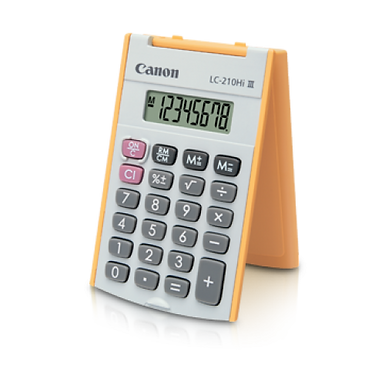 Canon Calculator LS 210 HI III (ORANGE)