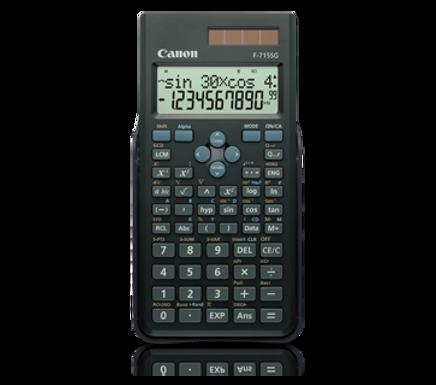 Canon Calculator Scientific F-715 SG (BLACK)