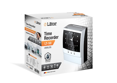 Lator Time Recorder LT-50 Analog