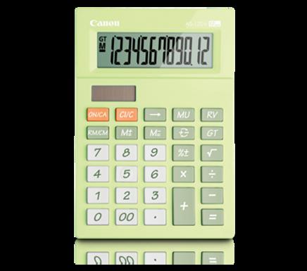 Canon Calculator AS- 120 V (LIME GREEN)