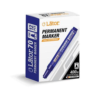Lator Permanent Marker 70 Blue