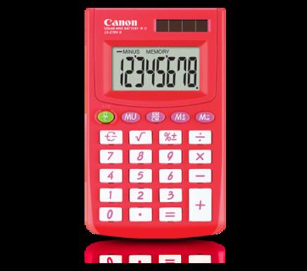 Canon Calculator LS 270 II (SUMMER RED)