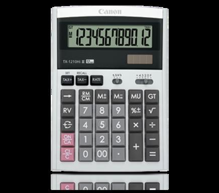 Canon Calculator TX- 1210 HI III