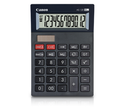 Canon Calculator AS -120