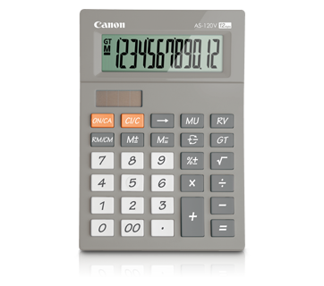 Canon Calculator AS - 120V (GREY)
