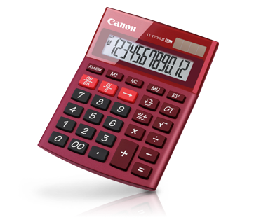 Canon Calculator LS 120 HI III (RED)
