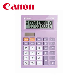 Canon Calculator AS -120 V ( PURPLE )