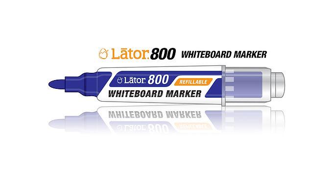 Lator Refillable Whiteboard Marker L800 Blue- 1pc