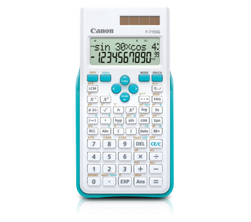 Canon Calculator Scientific F-715 SG (WHITE BLUE)