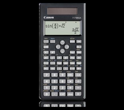 Canon Calculator Scientific F-718 SG (BLACK)