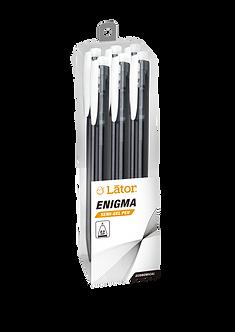 Lator Retratable Semi Gel Pen - Enigma- 0.5mm -Black