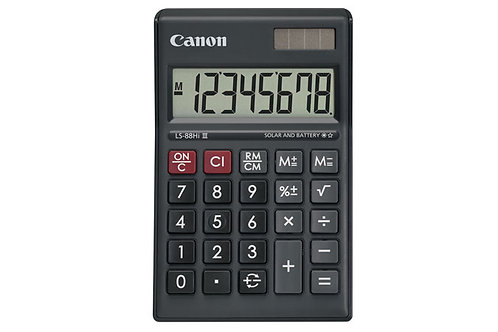 Canon Calculator LS 88 HI III (Black)