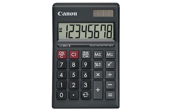 Canon Calculator LS 88 HI III (Black)