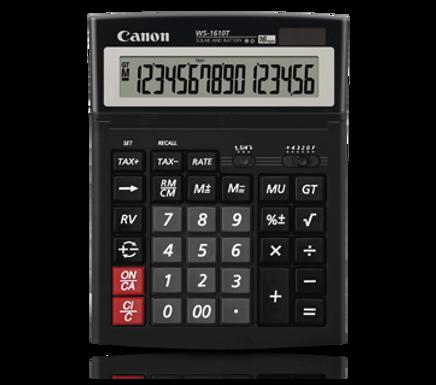 Canon Calculator WS-1610 T