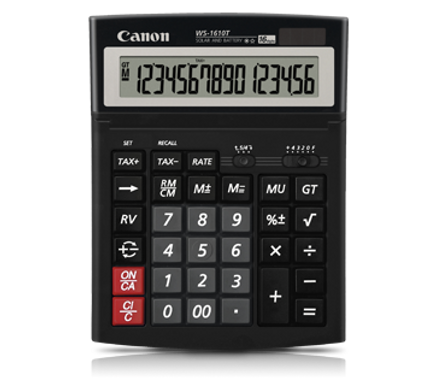 Canon Calculator WS-1610 T