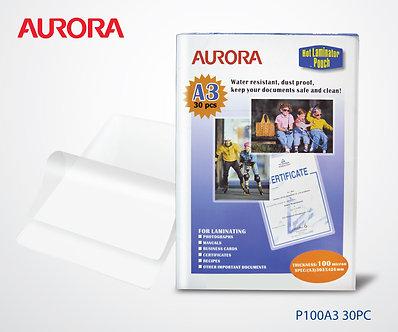 Aurora Lamination Film-A3 ( 30pc )