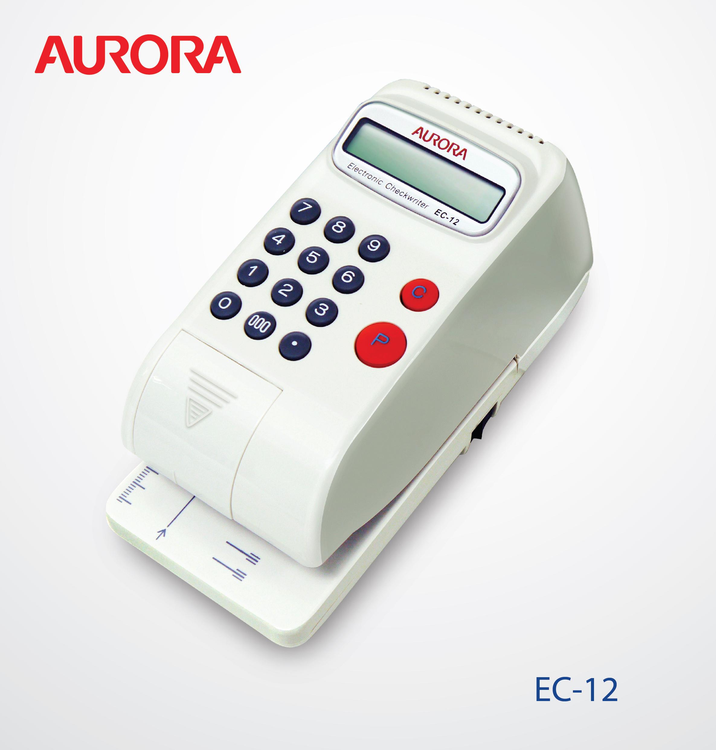Aurora Checkwriter EC12