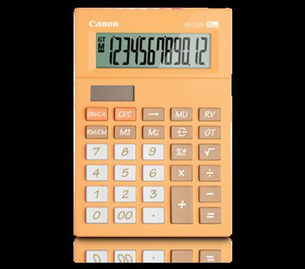 Canon Calculator AS -120 V (ORANGE)