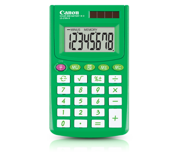 Canon Calculator LS 270 II (SPRING GREEN)